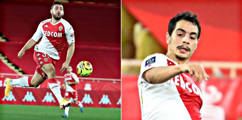 Kevin Volland (à g.) et Wissam Ben Yedder sont complices. Tout bénéf' pour Monaco.