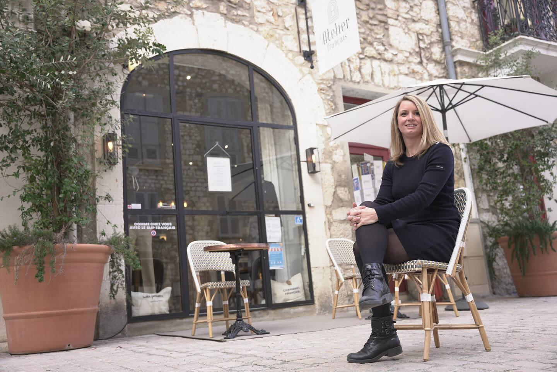 Amélie Serri a ouvert un concept store de produits made in France il y a un an et demi.