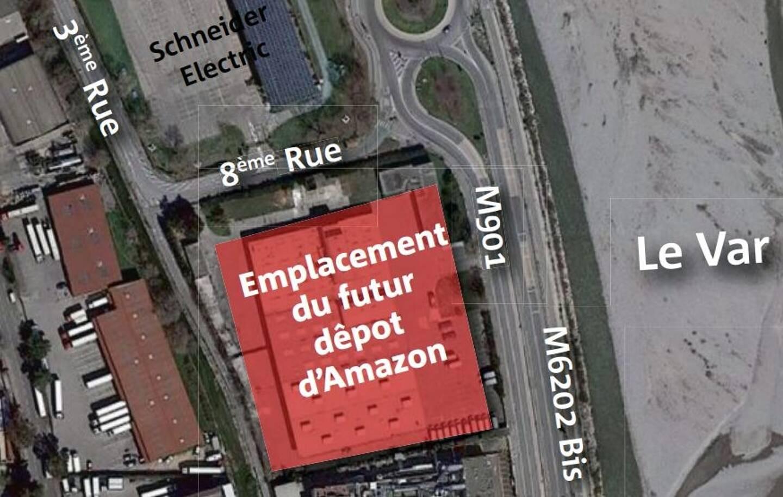 Le futur dépôt se trouvera dans la zone industrielle de Carros.