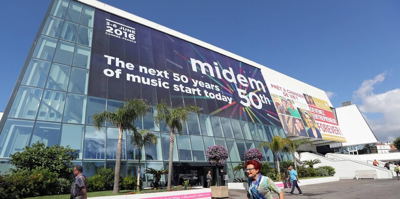 Le Midem à Cannes (illustration).