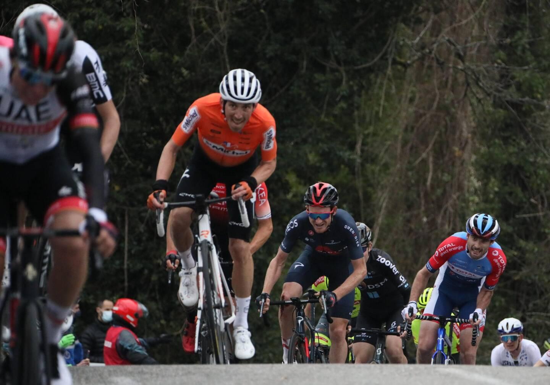 Un cas de Covid a été déclaré ce samedi soir dans la formation française Saint-Michel Auber 93. Ils étaient encore cinq coureurs en lice après l'abandon samedi de Baptiste Bleier.
