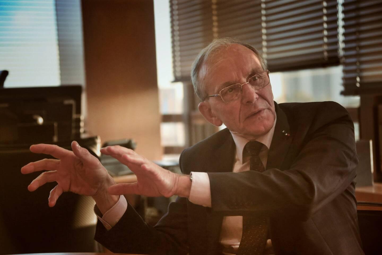 Le professeur Axel Kahn, médecin, ancien chercheur en génétique et président de la Ligue Nationale Contre le Cancer.
