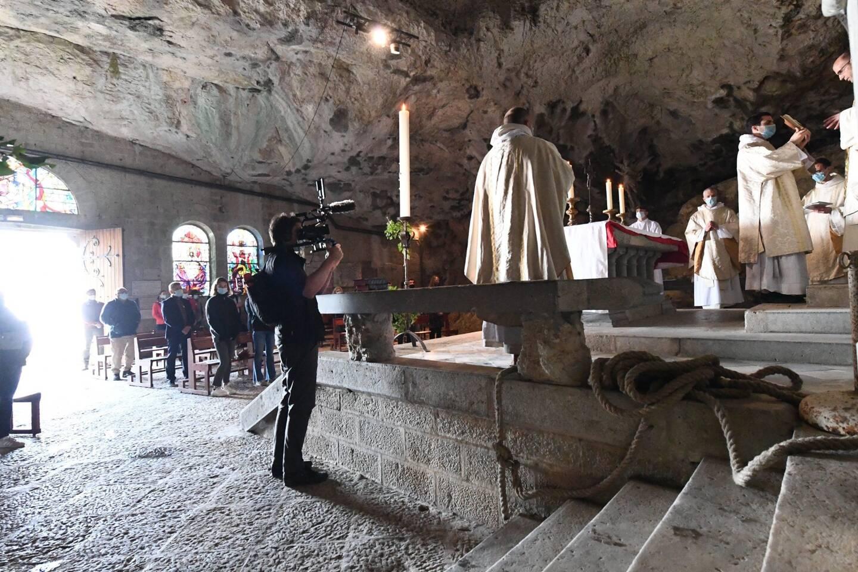 La grotte Marie-Madeleine à rouvert ce dimanche de Pâques.