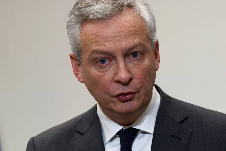 Bruno Le Maire, 51 ans, ministre de l'Economie et des Finances.
