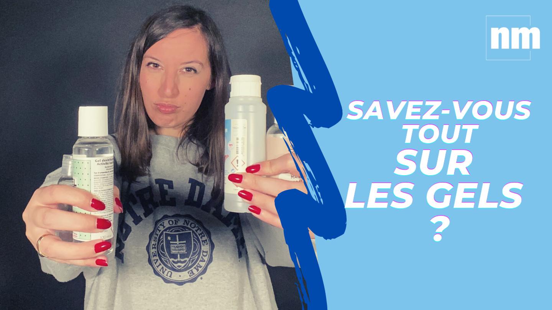 Un an après ... Savez-vous vraiment vous servir des gels hydroalcooliques ?