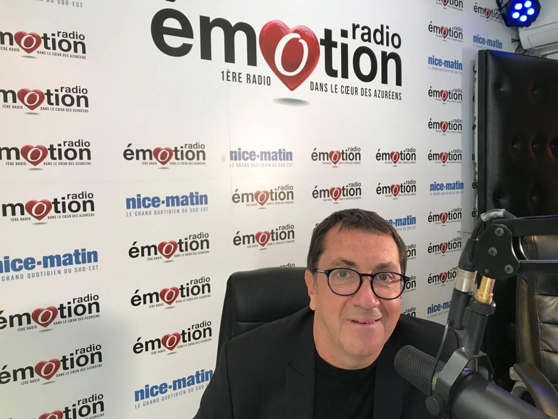 Bruno Valentin, conseil en communication et directeur associé de l'agence Pôle Company, au micro de Radio Emotion.