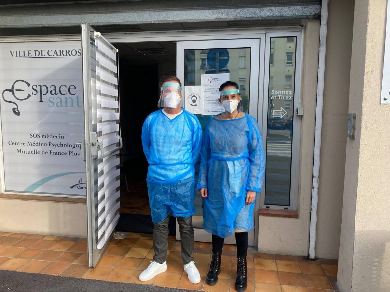 Deux infirmiers seront présents pour assurer les tests.