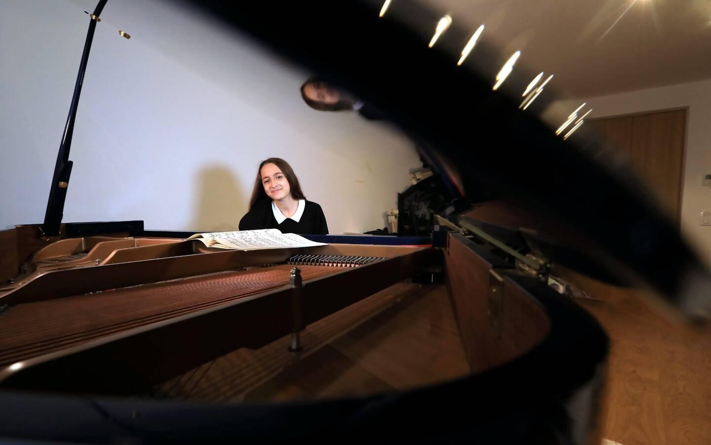 """Gauthier Capuçon lui a dit: """"tu seras une grande pianiste!""""."""