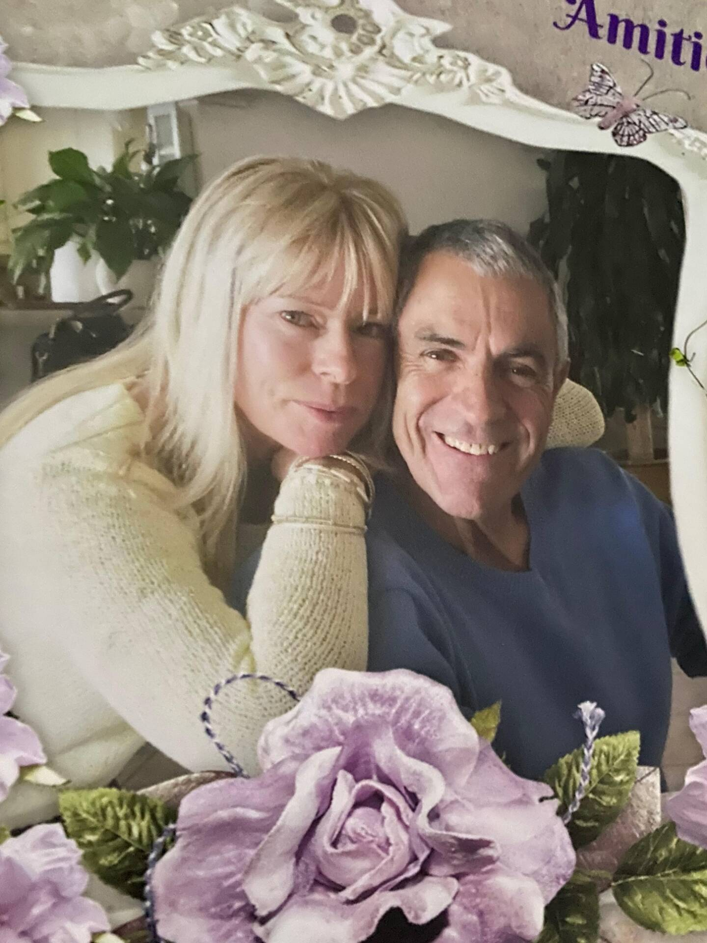 Jean-Pierre Cabras et son épouse Helen.