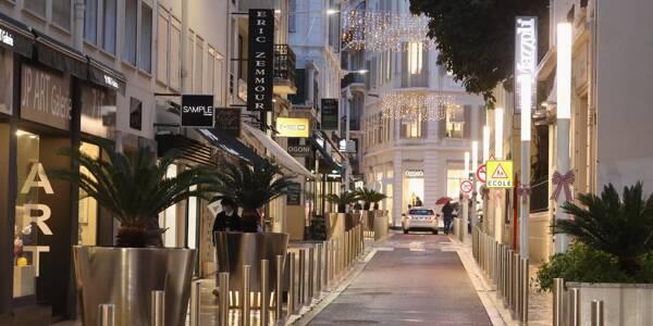 Le couvre-feu à Cannes