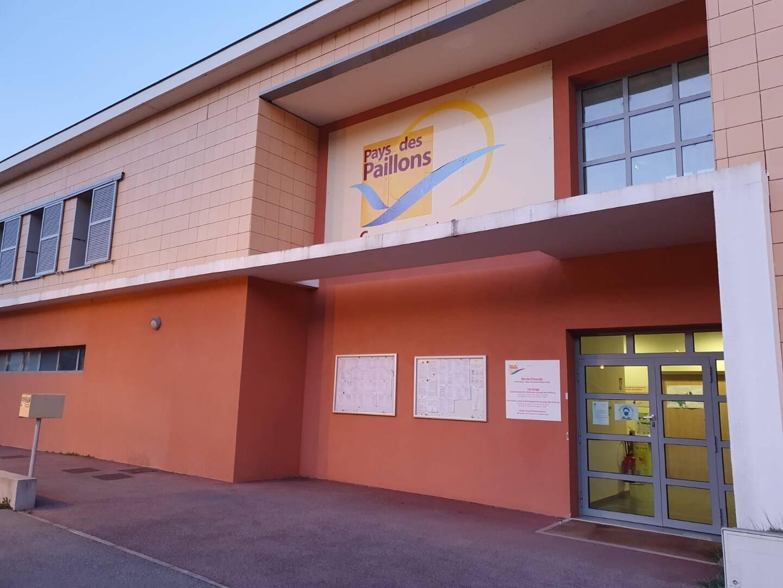 Le siège de la Communauté des communes du Pays des Paillons à Blausasc.