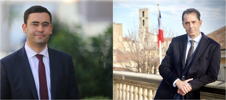 Chems Sallah (à gauche) et Pierre-Marie Carlier (à droite) ont porté un recours au tribunal administratif de Nice concernant l'élection municipale..