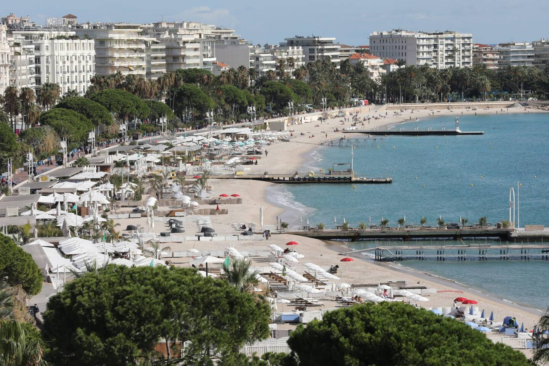 La Croisette à Cannes en septembre dernier.