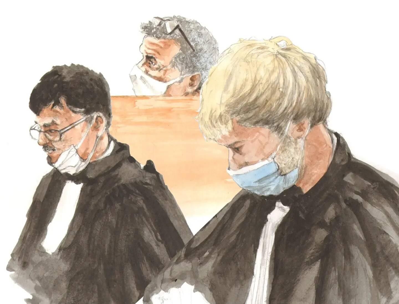 Il avait été requis sept ans d'emprisonnement à l'encontre de Claude Mardi (au centre). Finalement, la cour d'assises l'a condamné à douze ans de réclusion.
