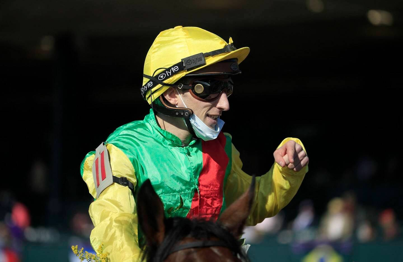 Le jockey vedette Pierre-Charles Boudot.