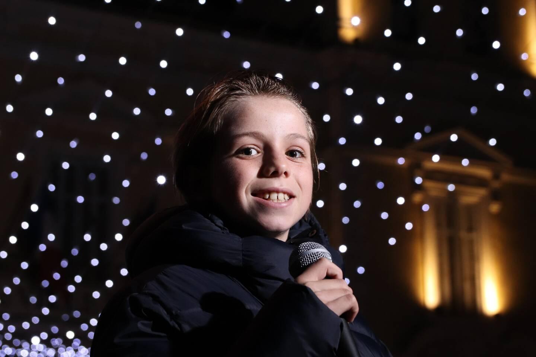 Louison, 10 ans, la victoire en chantant!