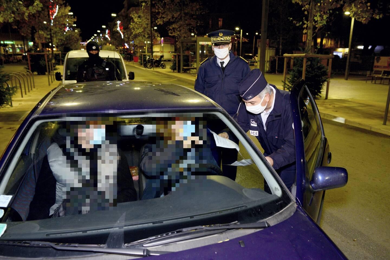 Un contrôle du couvre-feu à Draguignan... en attendant un confinement partiel le week-end?