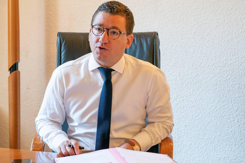 Arnaud Murgia, 36 ans, a été élu maire de Briançon en juin 2020.