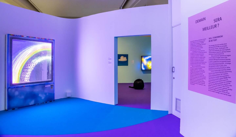 Vues de l'exposition « She-Bam Pow POP Wizz ! Les Amazones du POP » – Musée d'Art Moderne et d'Art contemporain (MAMAC) de Nice - © Ville de Nice / MAMAC / ADAGP