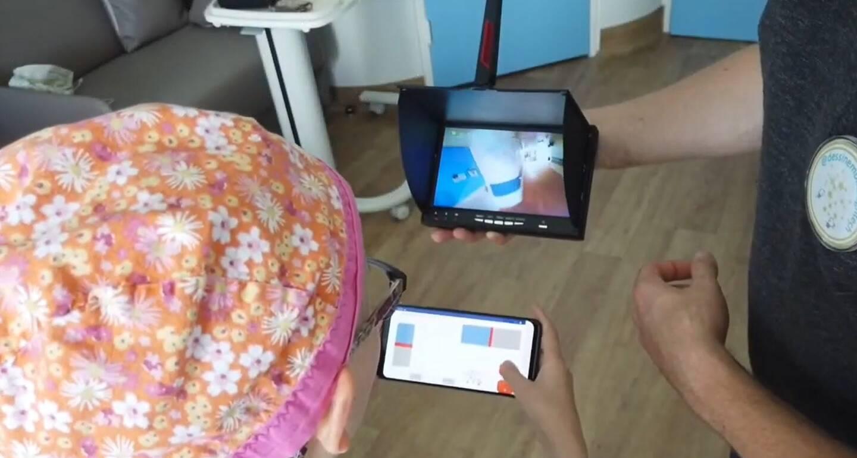 """L'association """"Dessine-moi la High-Tech"""" intervient auprès de services pédiatriques de cinq établissements en France. Elle sera prochainement présente à Nice."""