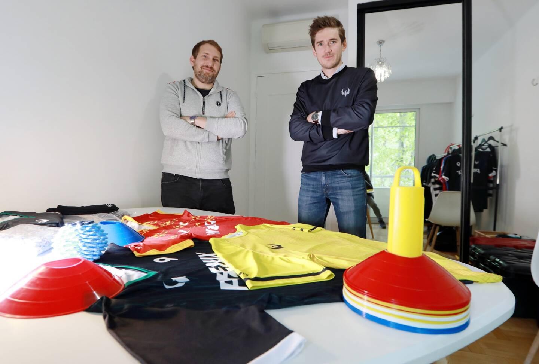 """Les fondateurs, tous deux issus du monde sportif, fabriquent des vêtements de sport en polyester made in Europe: """"C'est dans l'ADN de la marque d'être écoresponsable et circulaire."""""""