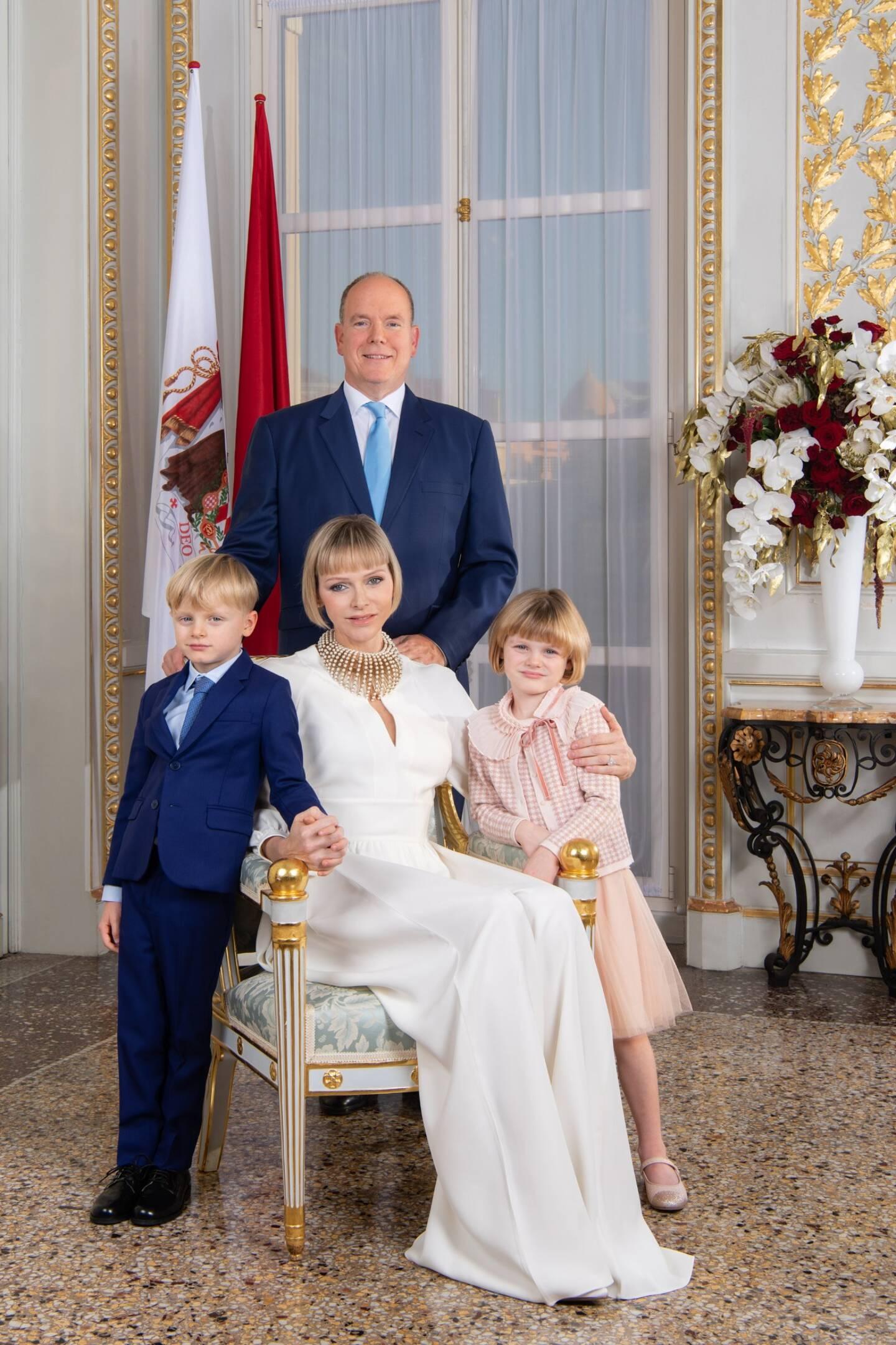 La famille princière.