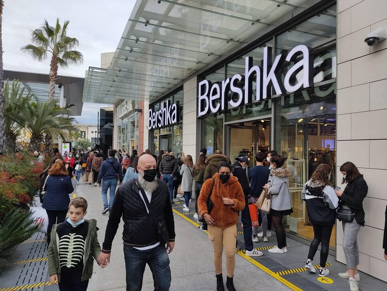Le centre commercial à ciel ouvert Polygone Riviera a ouvert en octobre 2015 à Cagnes-sur-Mer