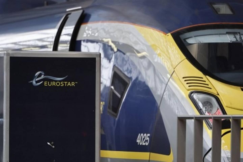 L'Eurostar, ici en gare de Londres Saint-Pancras.