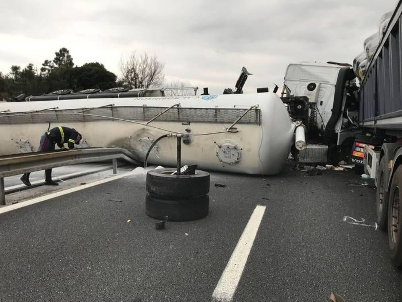L'accident a fait un mort et un blessé grave en Italie.