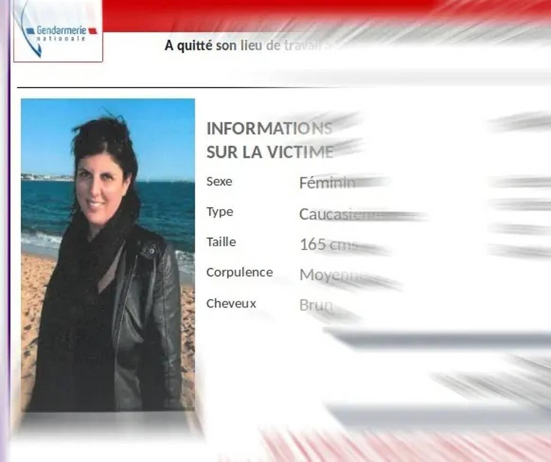 """Caroline Milloud est activement recherché. Les gendarmes ont lancé un appel à témoins, sa disparition étant jugée """"inquiétante""""."""