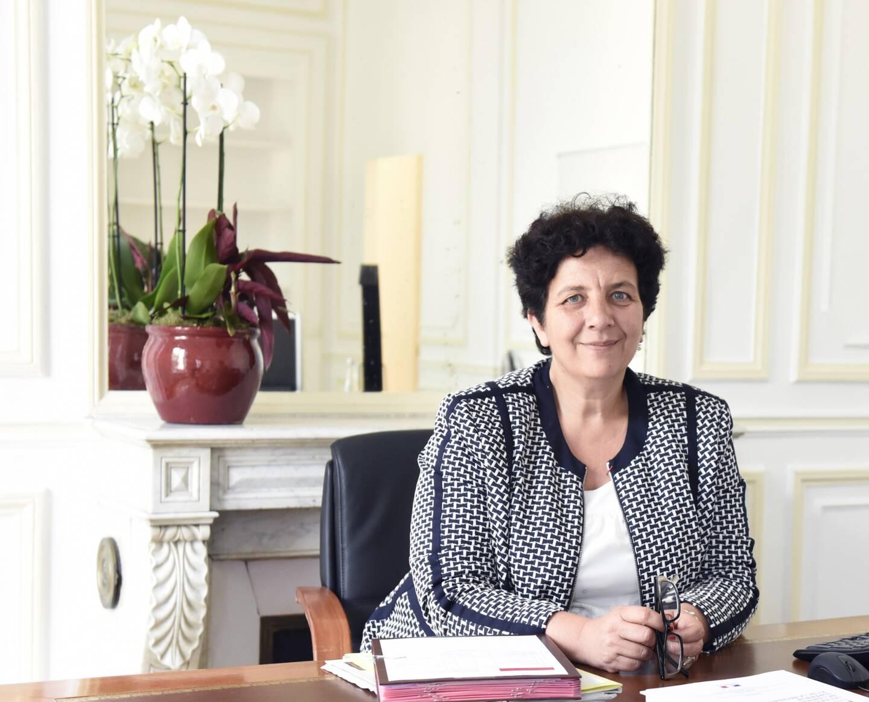Frédérique Vidal, ministre de l'Enseignement supérieur et ancienne présidente de l'Université de Nice - Sophia Antipolis.
