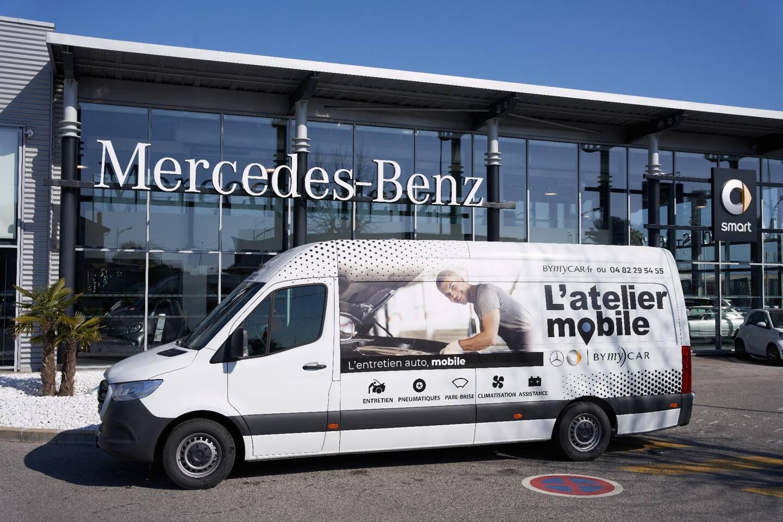 L'Atelier Mobile se déplace directement à votre bureau, pour entretenir et réparer tous types de véhicules.