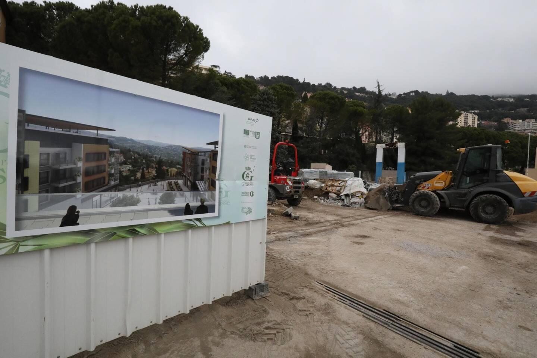 Le projet Martelly, à Grasse, doit participer à recréer du flux en centre ville, avec une offre commerciale dense et attractive.
