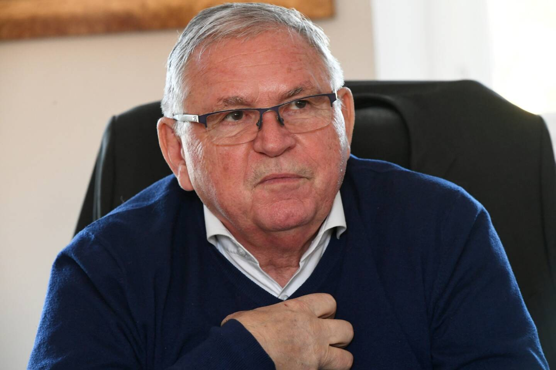 Le maire de Saint-Mandrier Gilles Vincent.