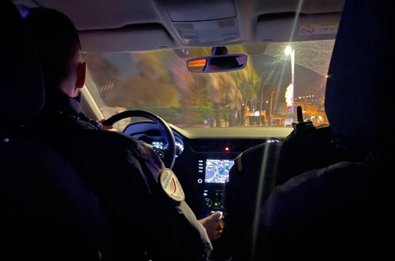 Une patrouille de police nocturne dans le Var (image d'illustration).