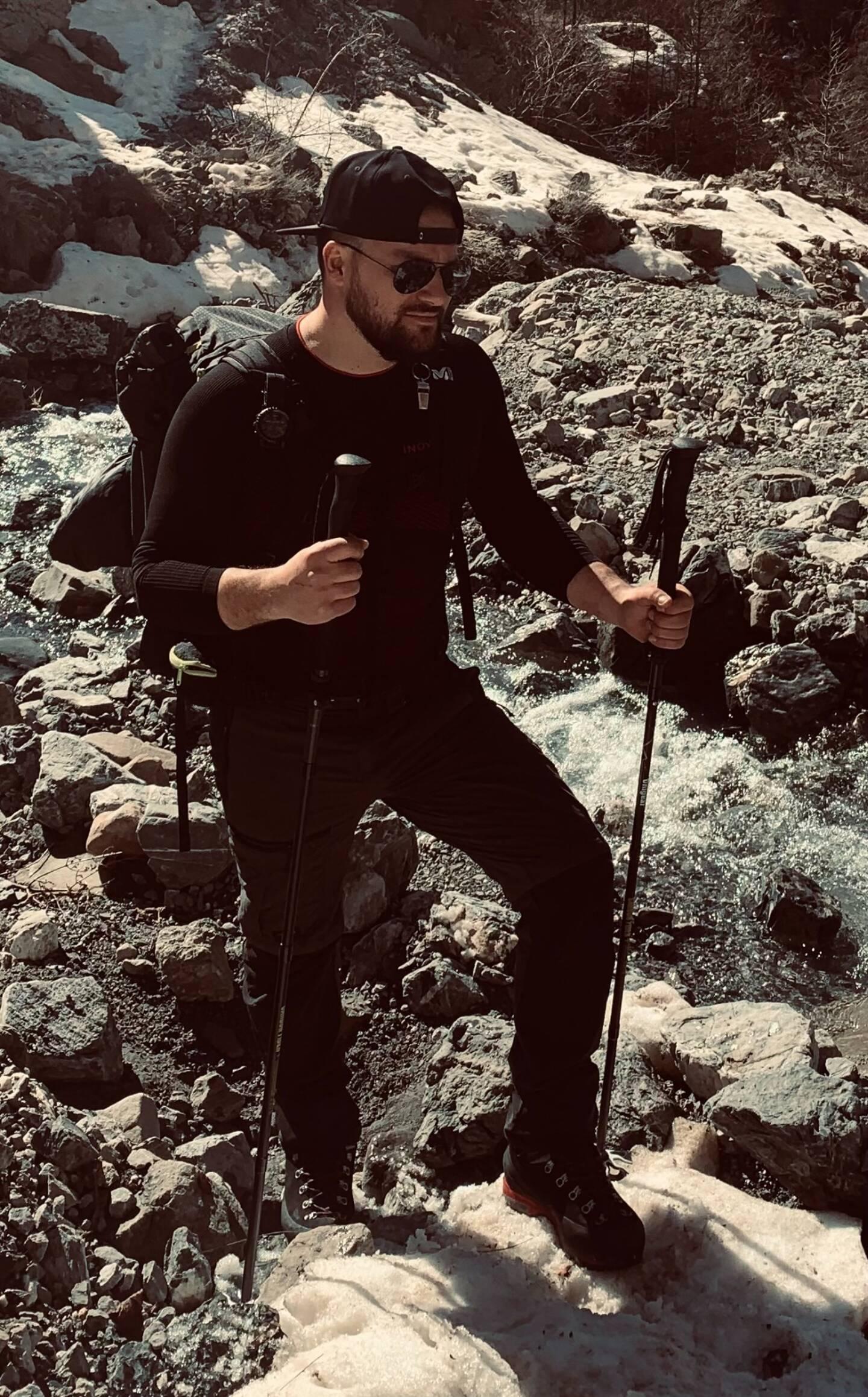 """Laurent Giacomoni diffuse ses photos sur la pafe Facebook """"Auron wild life""""."""