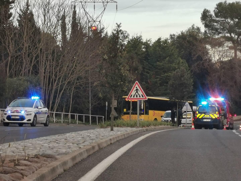 L'accident a provoqué de nombreux ralentissements dans le secteur.