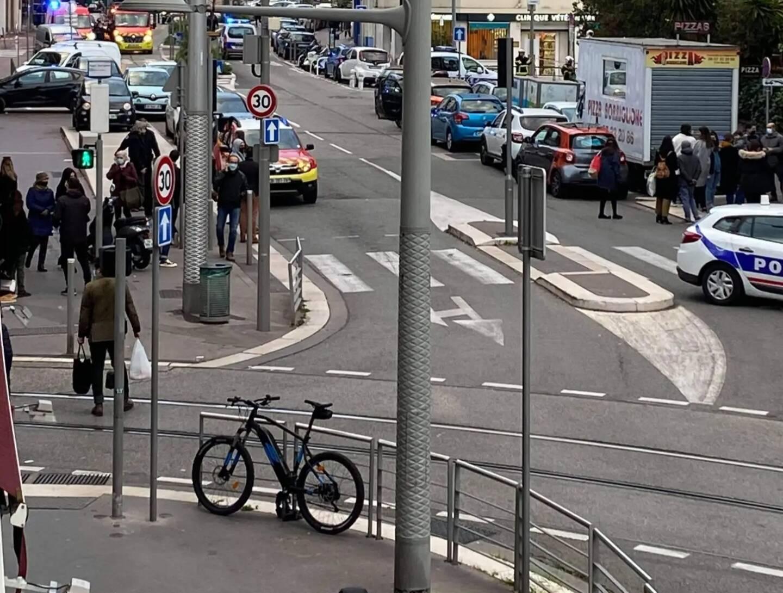 L'avenue Borriglione a été en partie bouclée.