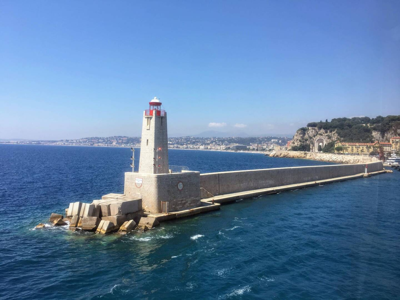 Une journée ensoleillée sur la Côte d'Azur