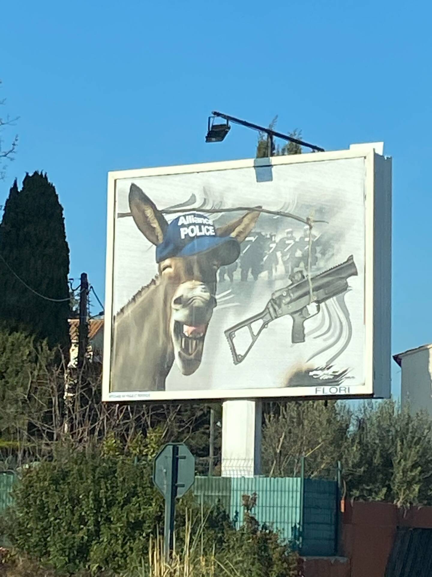 La nouvelle affiche de Michel-Ange Flori