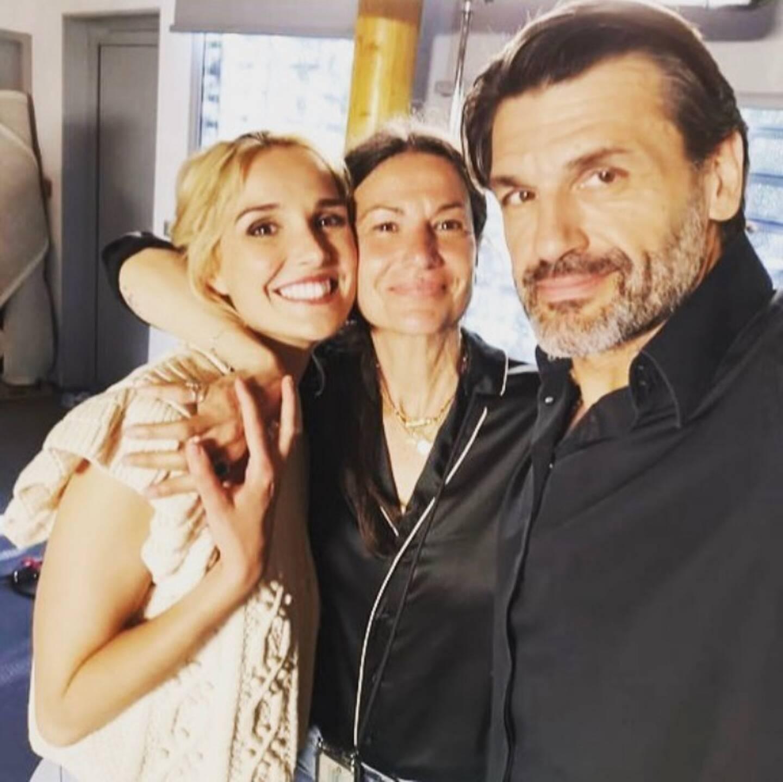 Camille Lou, Stéphanie Pillonca et Christophe Héraut