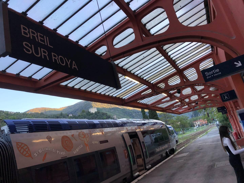 Le TER de retour dans la Roya!