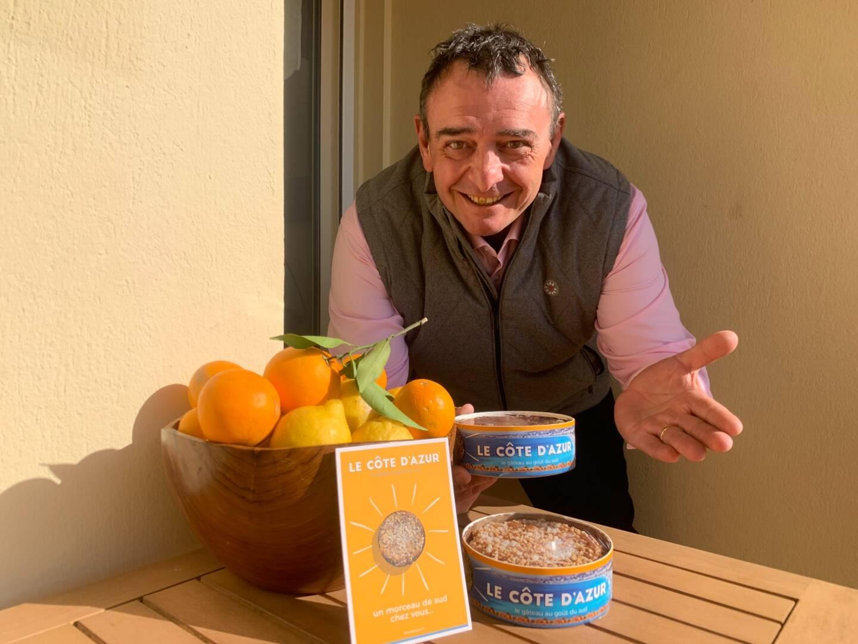 Pascal Rolfo a créé le gâteau Le Côte d'Azur.