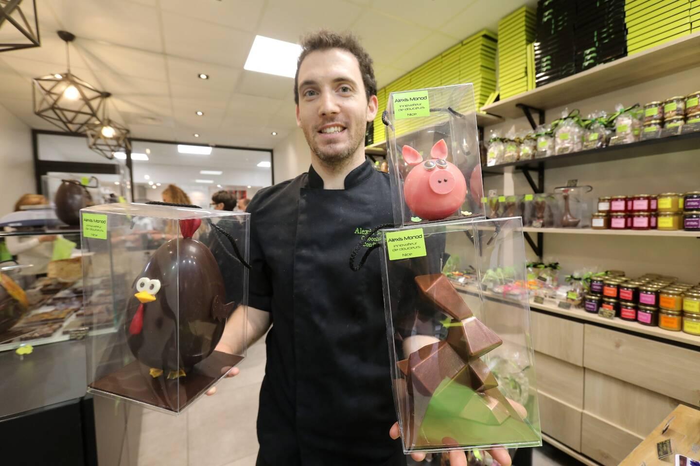 Les animaux d'un genre stylisé ont trouvé refuge dans la boutique-labo d'Alexis Monod.