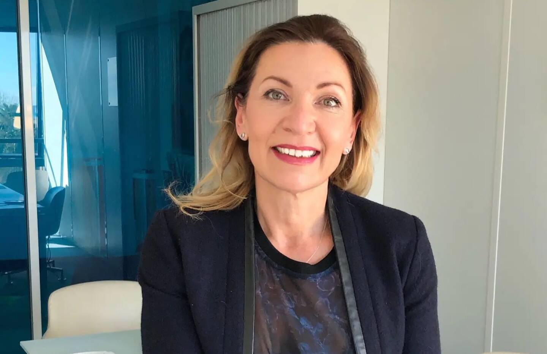 Anne Cagnard, cofondatrice et DRH de Convers Télémarketing, à Nice.