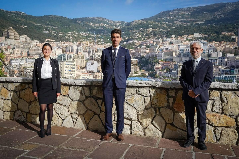 Audrey Bloche, Michaël Bloche et Jean-Charles Curau, chargés désormais de la question des Archives Nationales.