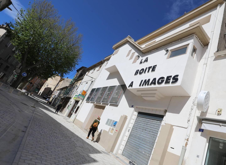 """Le cinéma """"La Boîte à Images"""" à Brignoles, encore fermé pour quelques jours."""
