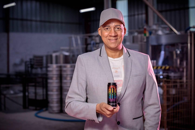 Daniel Tristant, le créateur de cette bière portant un message de lutte contre les discriminations envers la communauté LGBTQI+.