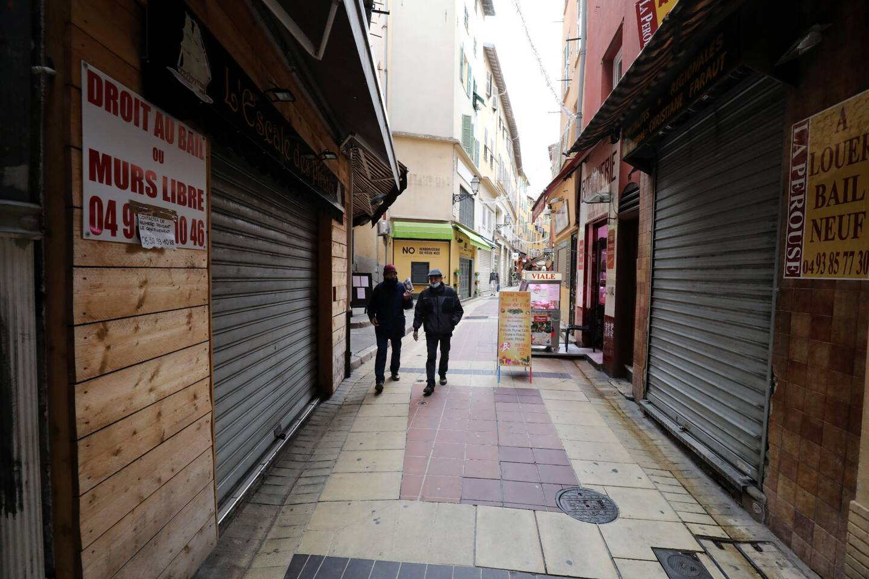 Les élus azuréens plaident pour une réouverture, dès maintenant, des commerces de proximité.