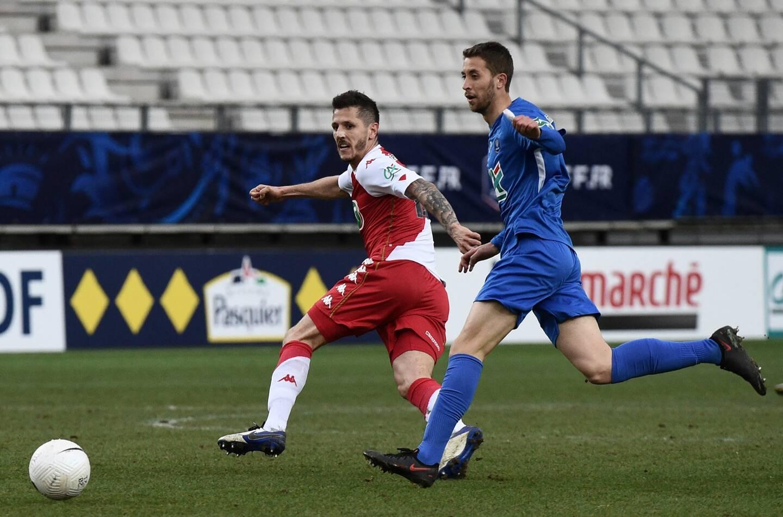 Stevan Jovetic est sorti sur blessure, face à Angers
